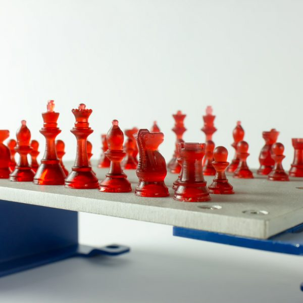 Chess set printed with BCN3D Lux