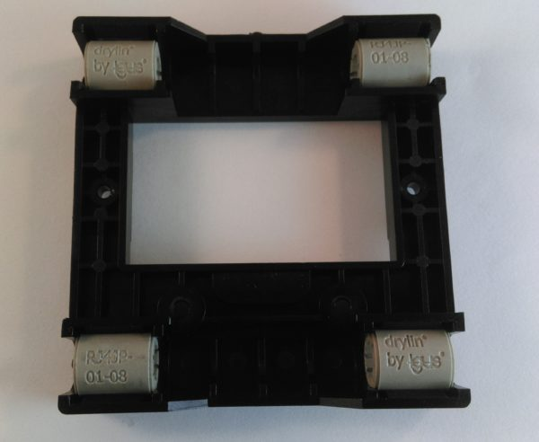 Cut Drylin RJ4 8mm on Y axis of Creatbot