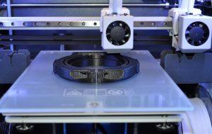 Sigma printing a coolant manifold