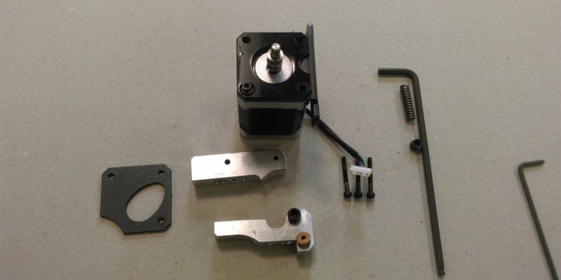 Reassembly of the extruder feeder of the BCN3D Sigma