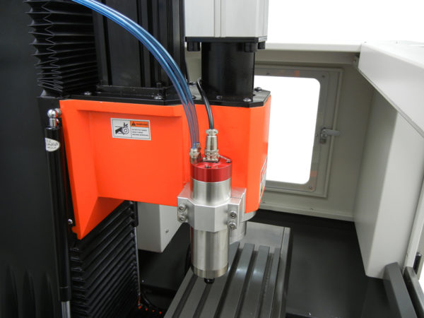 SVM-2VMC head with spindle
