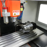 SVM-2VMC head with spindle and 4th axis