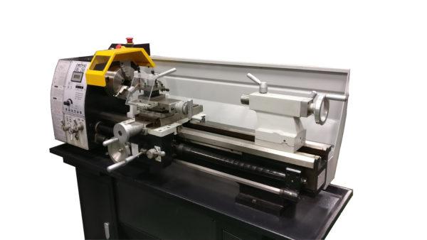 EML-290 Bench Lathe, 1 5kW Motor and Power Crossfeed - Emvio Engineering